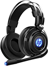 $29 » HP Wired Stereo Gaming Headset with mic, for PS4, Xbox One, Nintendo Switch, PC, Mac, Laptop, Over Ear Headphones PS4 Headset Xbox One Headset and LED Light
