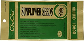 Chacha Sunflower Roasted and Salted Seeds (Coconut Flavor) 250g X 6 Bags