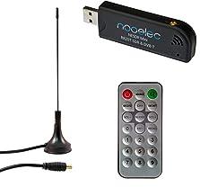 NESDR Mini (TV28T v2) Receptor USB RTL-SDR, DVB-T y ADS-B con Antena y Control Remoto. RTL2832U y R820T. Radio de Bajo Costo Definida por Software Compatible con la Mayoría de los Paquetes de Software