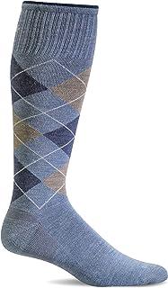 Sockwell Men's Argyle Graduated Compression Socks