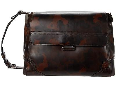 Frye Charlie Flap Shoulder (Camo) Handbags