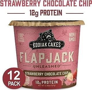 Kodiak Cakes Pancake On The Go, Strawberry Chocolate Chip, 2.37 Oz (Pack Of 12)