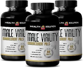 Muira puama catuaba - MALE VIRILITY 1300MG - sexual stimulant (3 Bottles)