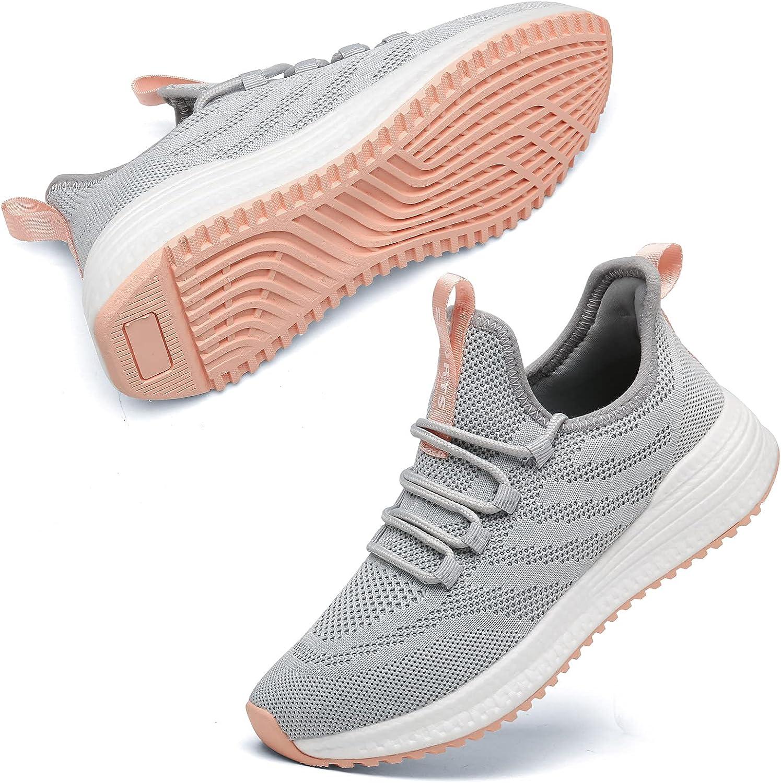 Akk Women's Sneakers Running Shoes - Lightweight Walking Memory