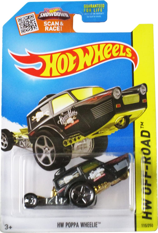 Hot Wheels, 2015 HW Off-Road, HW Poppa Wheelie [Black]  115 250