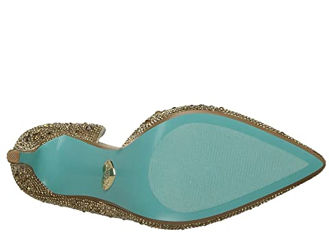 Satin Betsey Johnson Hazil Blue by GoldRedSilver F5qX5fwW