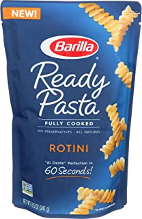Barilla Ready Pasta, Rotini, 8.5 Ounce (Pack of 6)