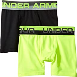 2-Pack Solid Performance Boxer (Big Kids)
