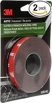 "3M 03614 Scotch-Mount 1/2"" x 15' Molding Tape (2-Rolls): image"
