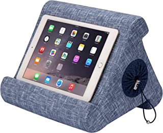 Flippy with New Storage Cubby Multi-Angle Soft Pillow Lap Stand for iPads, Tablets, eReaders, Smartphones, Books, Magazine...