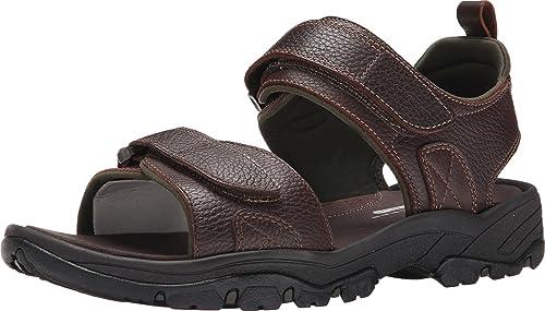 Rockport Hommes's Hommes's Rocklake Backstrap Sandal,marron marron,9.5 W US  économiser jusqu'à 80%