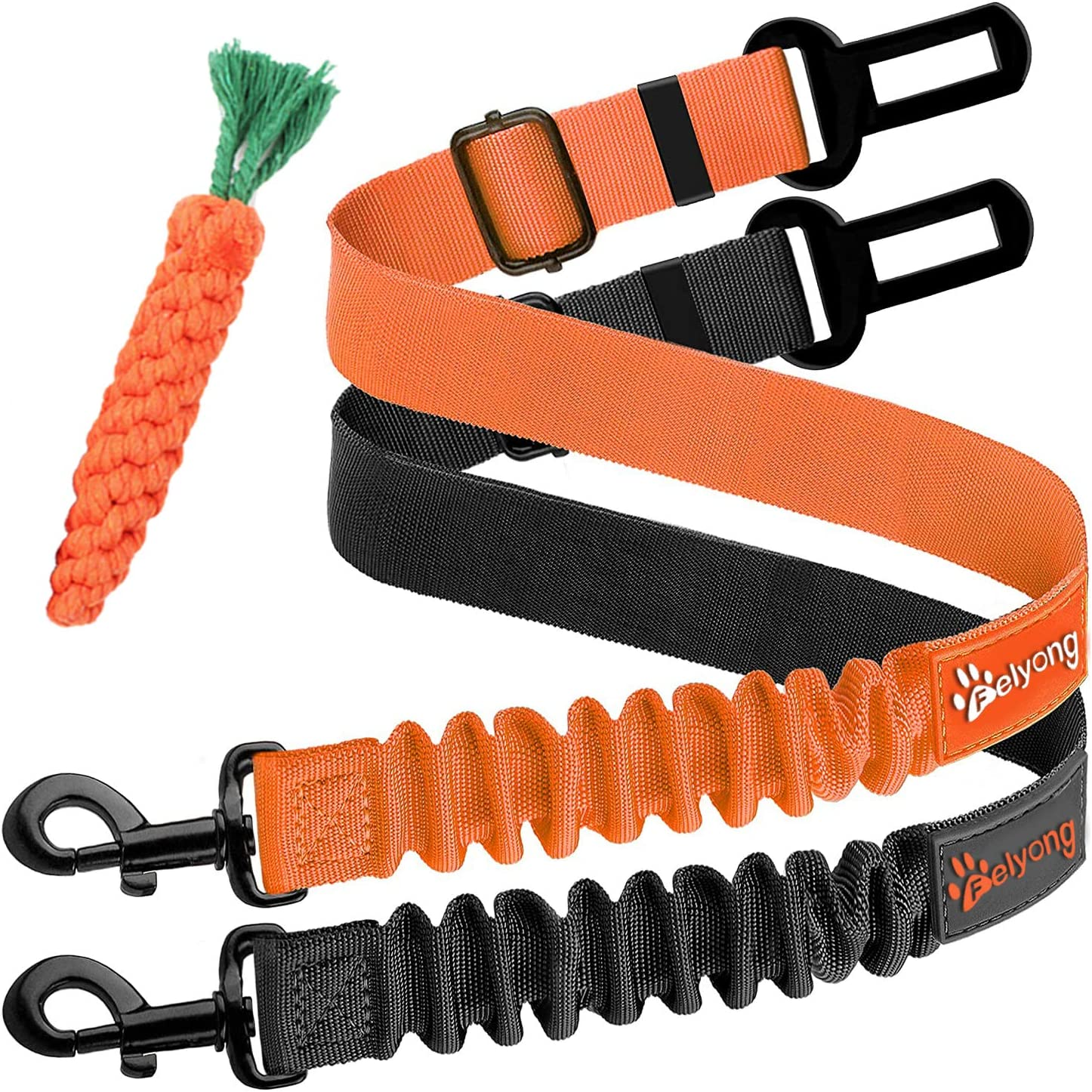 Max Year-end annual account 56% OFF Dog Seatbelt Adjustable Car Stretchy Pawsaf Strap Harness