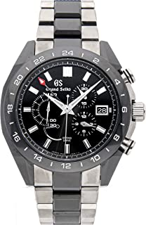 Grand Seiko Grand Seiko Spring Drive Spring Drive Black Dial Mens Watch SBGC223 (Certified Pre-Owned)