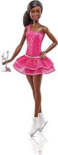 Barbie Quiero Ser patinadora, muñeca afroamericana con