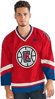 Starter Adult Men Legend Hockey Jersey, Red, X-Large