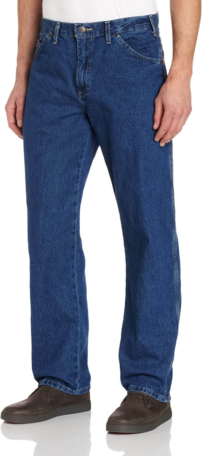 Dickies Max 66% OFF Men's Relaxed Straight Bombing new work Fit Jean Indigo Carpenter Blue