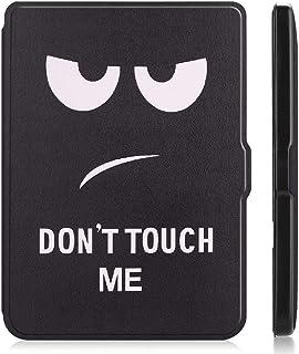 "for Kobo Clara HD 6"" Tablet Ultra Thin Slim Folio Sleep/Wake Up Leather Case Flip Smart Cover (Big Eye)"