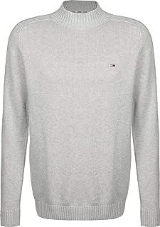Tommy Jeans Men's TJM Solid Mock Neck Sweatshirt
