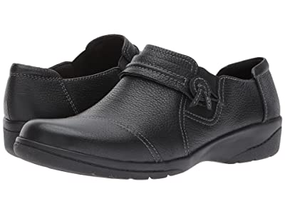 Clarks Cheyn Madi (Black Tumbled Leather) Women