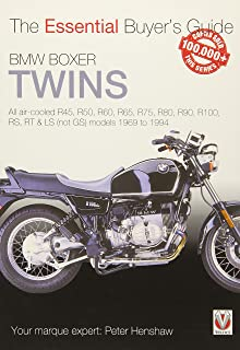 BMW Boxer Twins: All air-cooled R45, R50, R60, R65, R75, R80, R90, R100, RS, RT & LS (Not GS) models 1969 to 1994