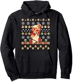 Mario Pixel Ugly Christmas Sweater Hoodie