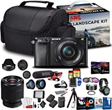 $1503 » Sony Alpha a6400 Mirrorless Digital Camera with 16-50mm Lens Kit with Sony FE 28-70mm f/3.5-5.6 OSS Lens and More