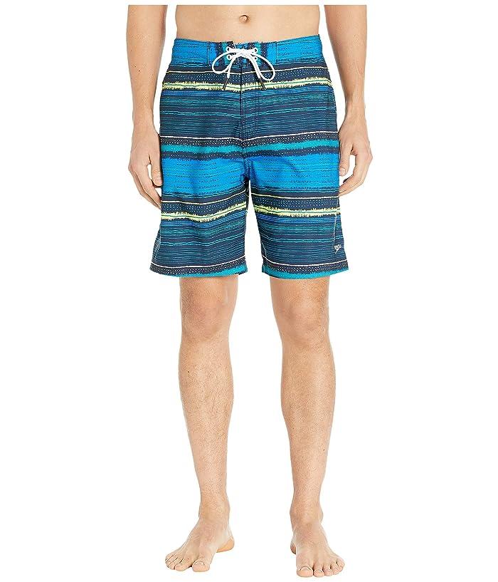 Speedo  Borderline Boardshorts 20 (Blue/Green) Mens Swimwear