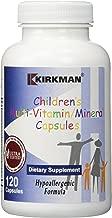 Kirkman Labs Children s Multi-Vitamin Mineral Capsules 120 Capsules