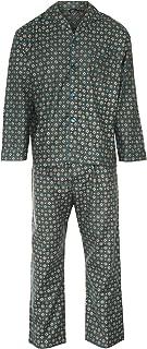 Champion Mens Diamond Wyncette Cotton Pyjama Lounge Wear - Teal - S