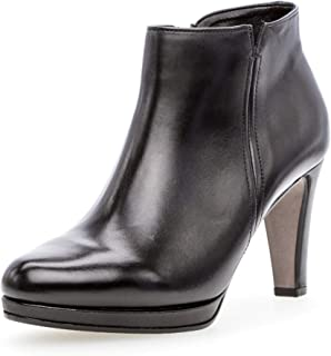 Gabor Basic laarzen in grote maten zwart 35.860.27 grote damesschoenen