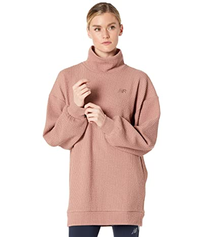 New Balance Transform Spring Loft Pullover (Prairie Rose) Women