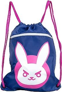 JINX Overwatch D.Va Bunny Loot Bag, 14x19