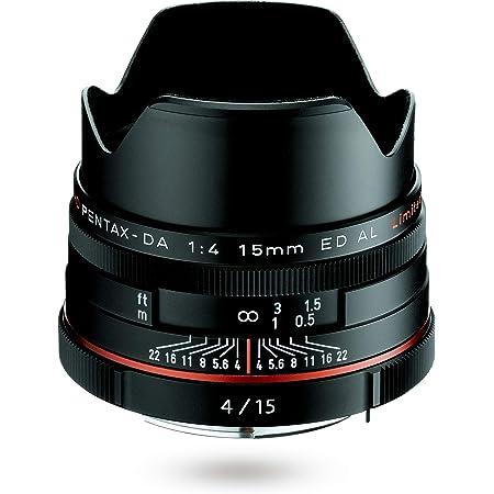 HD PENTAX-DA 15mmF4ED AL Limited ブラック 超広角単焦点レンズ 【APS-Cサイズ用】【高品位リミテッドレンズ・アルミ削り出しボディ】【高精細な描写】【高性能 HDコーティング】【小型・軽量設計】【ペンタックス一眼Kシリーズはボディ内手振れ補正を搭載】 21470