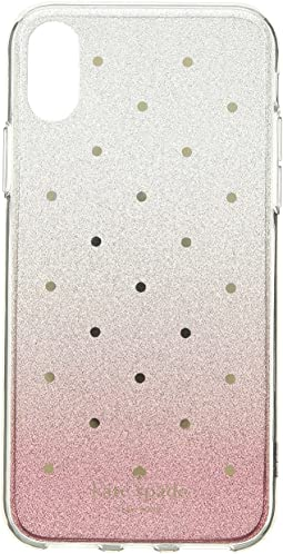 Glitter Ombre Dot Phone Case for iPhone X