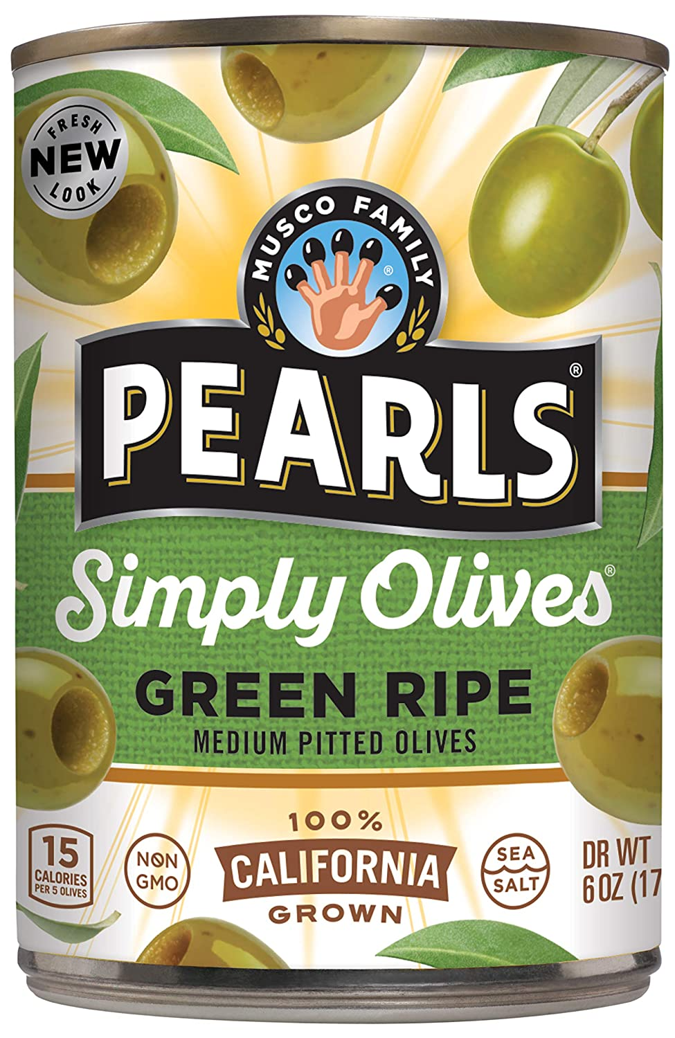 PEARLS Free Shipping New Simply Olives Green Ripe Pitted 12 Pack of 72 Oun Ranking TOP13