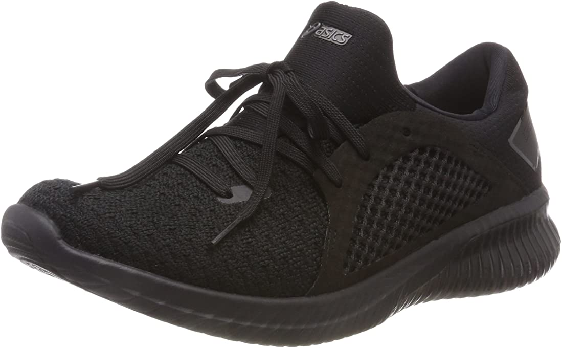 ASICS Men's Gel-Kenun Knit MX Road Running Shoes, Black