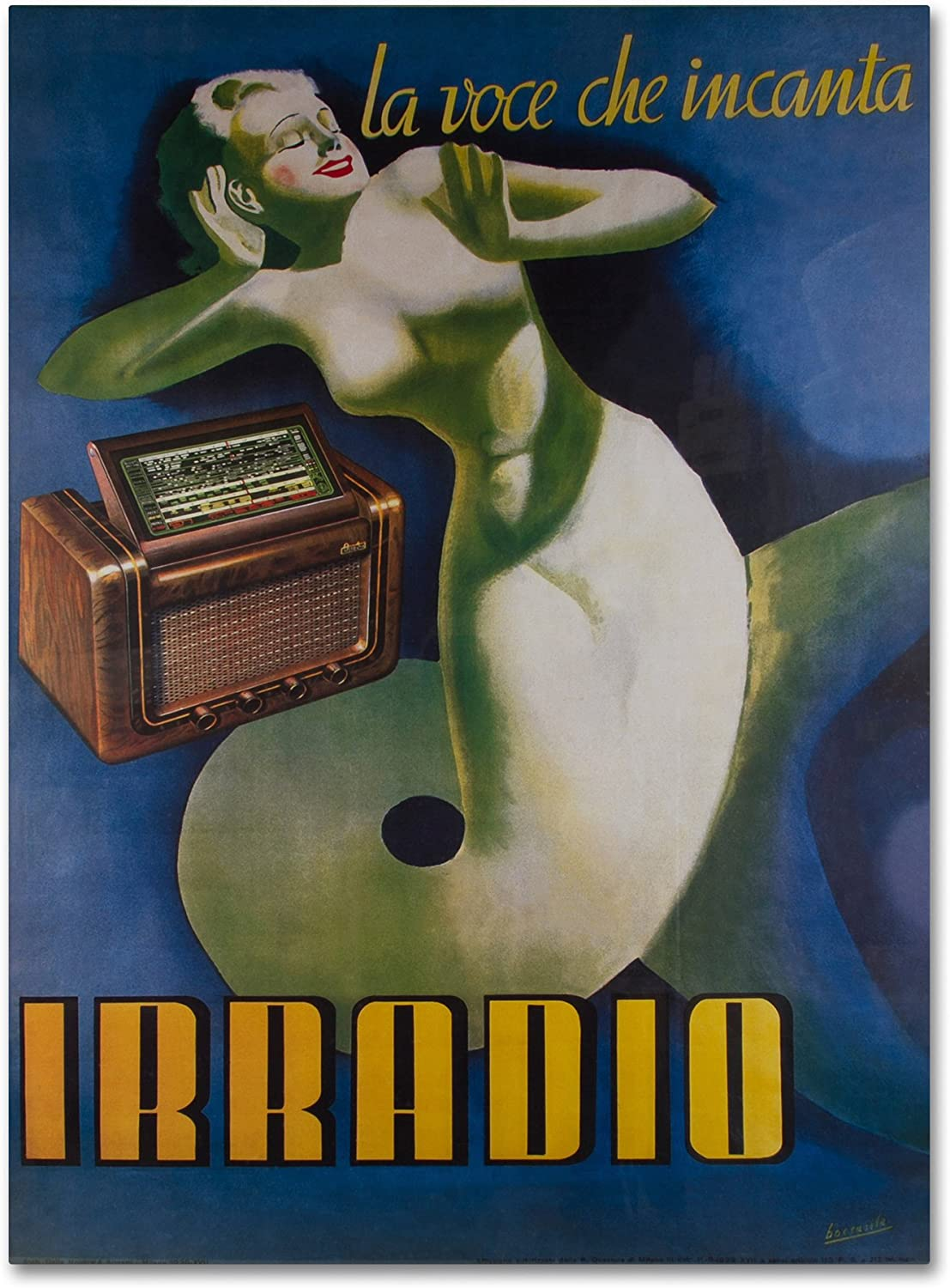 Irradio by Vintage Apple Collection, 14x19Inch