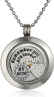 قلادة متدلية مطبوع عليها Mom You Are Loved من Charmed Lockets مقاس 60.96 سم