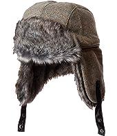 Trapper Knit Hat w/ Faux Fur