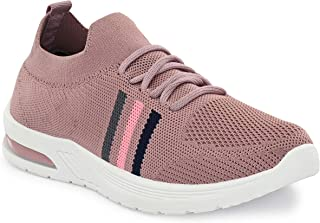 layasa ayasa Womens Trendy Lightweight Comfortable Casual wear Lace-Up Shoes Running Casual Lace up Sneakers Shoes