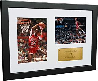 A4 Signed Michael Jordan Chicago Bulls