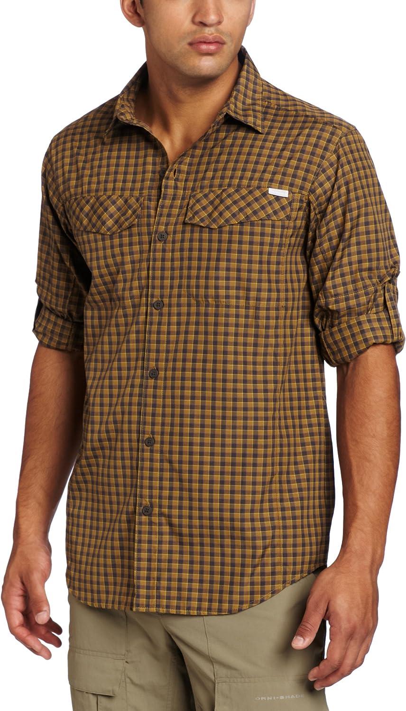 Columbia Men's Silver Ridge Sleeve Plaid Spasm price Long Under blast sales Shirt