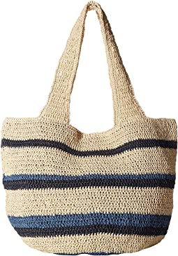 Hat Attack Straw Carryall
