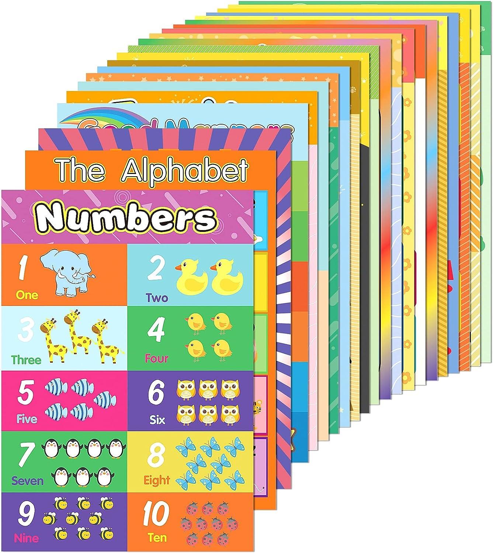 EAONE 22 Pack Rare Classroom Kindergarten Posters Supplies 2021 model