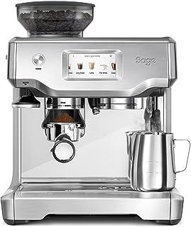 SAGE SES880BSS the Barista Touch, Cafetera espresso, Cappuccinatore, 15 Bar, acero inoxidable