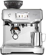 Sage Appliances SES880 the Barista Touch, Espresso machine, Brushed Stainless Steel, handmatig aanstampen, automatisch mel...