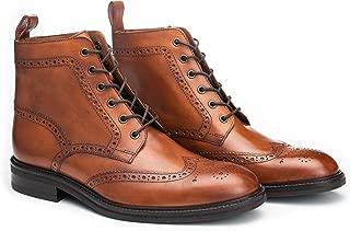 suede brogue boot
