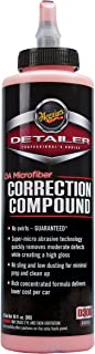 Meguiar's DA Microfiber Correction Compound – Auto Compound Removes Surface Defects – D30016, 16 oz