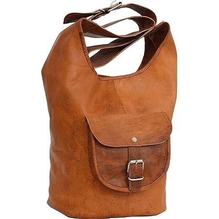 Gusti Shopper Leder - Dasmine Ledertasche Damentasche Braun Leder