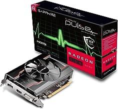 Sapphire 11268-21-20G Radeon Pulse RX 550 2GB GDDR5 64-bit HDMI / DVI-D / DP OC (UEFI) PCI-E Graphics Card